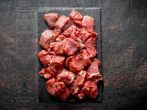 Rindermuskelfleisch 5 kg (ungewolft)